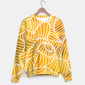 Thumbnail image of ptrn orange Sweater, Live Heroes