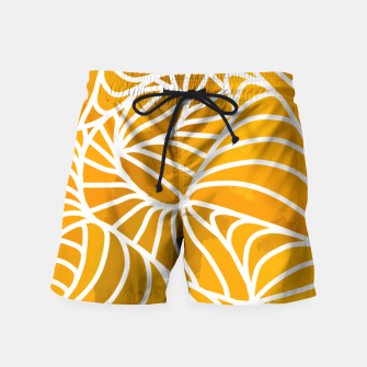 Thumbnail image of ptrn orange Swim Shorts, Live Heroes