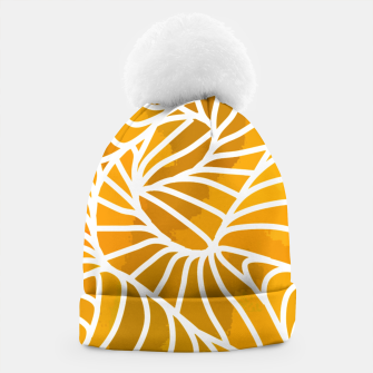 Thumbnail image of ptrn orange Beanie, Live Heroes