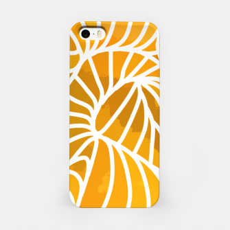 Thumbnail image of ptrn orange iPhone Case, Live Heroes