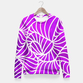 Thumbnail image of ptrn purple Fitted Waist Sweater, Live Heroes