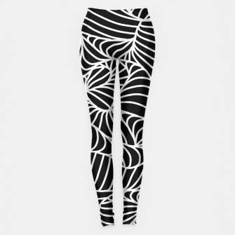 Thumbnail image of ptrn black Leggings, Live Heroes