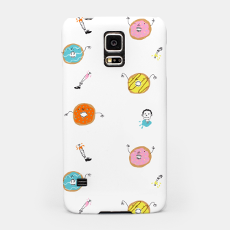 Miniatur Evil Donuts Samsung Case, Live Heroes