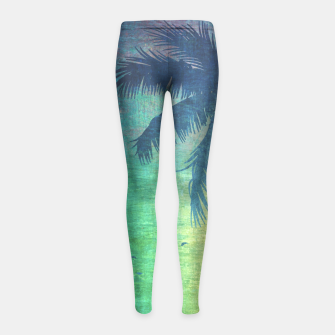 Miniature de image de Summer vibes Girl's Leggings, Live Heroes