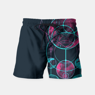 Thumbnail image of Geometry One Swim Shorts, Live Heroes