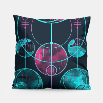 Thumbnail image of Geometry One Pillow, Live Heroes