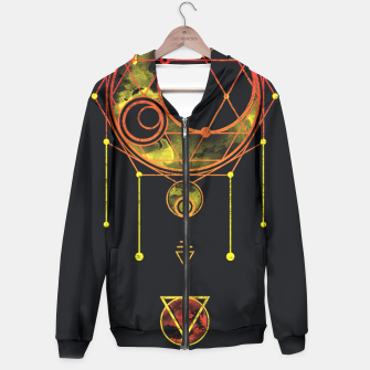 Thumbnail image of Geometry two Hoodie, Live Heroes