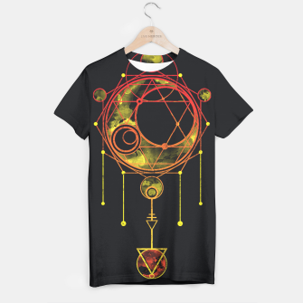 Thumbnail image of Geometry two T-shirt, Live Heroes