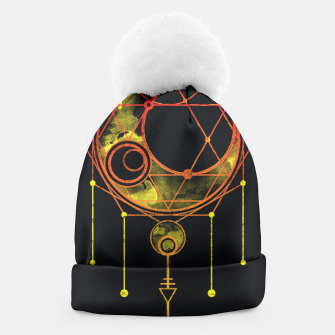 Thumbnail image of Geometry two Beanie, Live Heroes