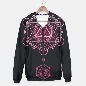 Thumbnail image of Geometry Three Hoodie, Live Heroes