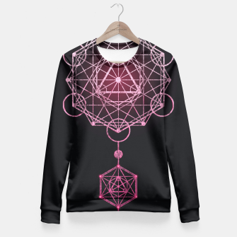 Thumbnail image of Geometry Three Fitted Waist Sweater, Live Heroes