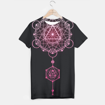 Thumbnail image of Geometry Three T-shirt, Live Heroes