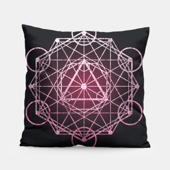 Thumbnail image of Geometry Three Pillow, Live Heroes