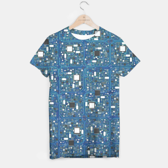 Thumbnail image of Ultimate circuit board T-shirt, Live Heroes