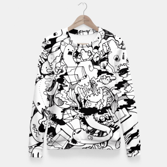 Thumbnail image of Balloon Fitted Waist Sweater, Live Heroes