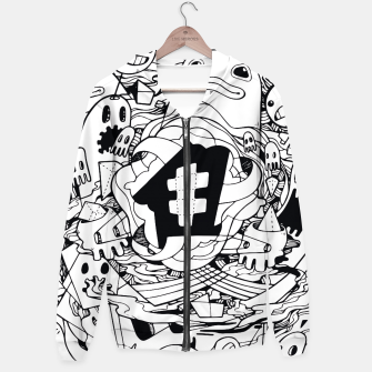 Thumbnail image of Bubble Hoodie, Live Heroes