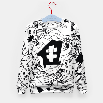 Thumbnail image of Bubble Kid's Sweater, Live Heroes