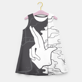 Thumbnail image of Entheogen Girl's Summer Dress, Live Heroes