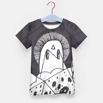 Thumbnail image of Where We Meet Kid's T-shirt, Live Heroes