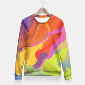 Thumbnail image of Puddle Fitted Waist Sweater, Live Heroes