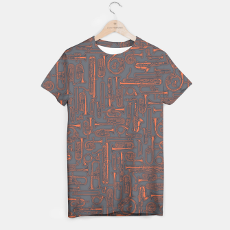 Thumbnail image of Horns COPPER T-shirt, Live Heroes