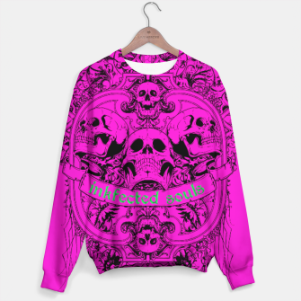 Thumbnail image of HAPPY SOULS Pink Inkfected Edition Sweater, Live Heroes