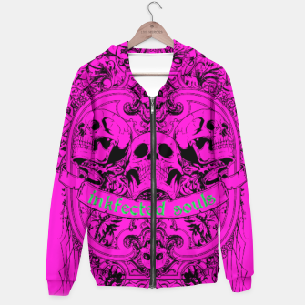 Thumbnail image of HAPPY SOULS Pink Inkfected Edition Hoodie, Live Heroes