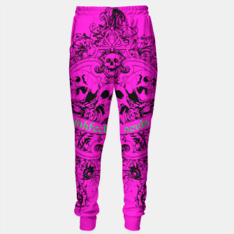 Thumbnail image of HAPPY SOULS Pink Inkfected Edition Sweatpants, Live Heroes