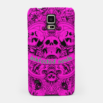 HAPPY SOULS Pink Inkfected Edition Samsung Case thumbnail image