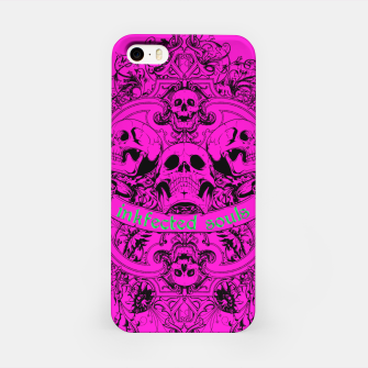 HAPPY SOULS Pink Inkfected Edition iPhone Case thumbnail image
