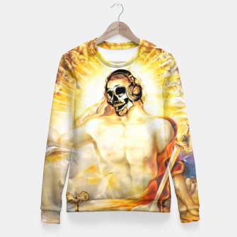 Thumbnail image of SPIRITUS SANCTUS DJ Eternal Edition Fitted Waist Sweater, Live Heroes