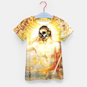 Thumbnail image of SPIRITUS SANCTUS DJ Eternal Edition Kid's T-shirt, Live Heroes