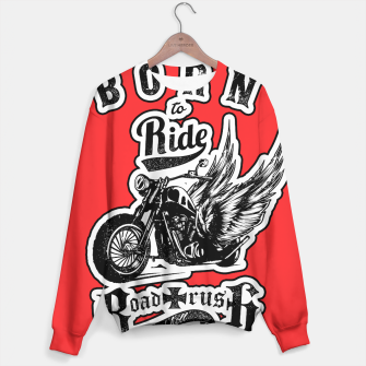 Thumbnail image of BORN TO RIDE Angels Blood Edition Sweater, Live Heroes