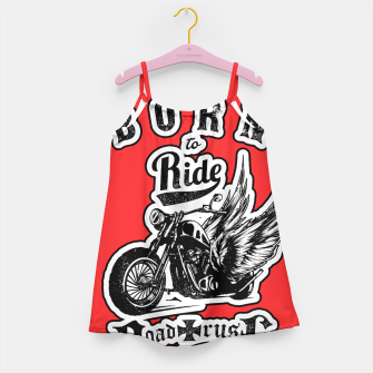 Thumbnail image of BORN TO RIDE Angels Blood Edition Girl's Dress, Live Heroes