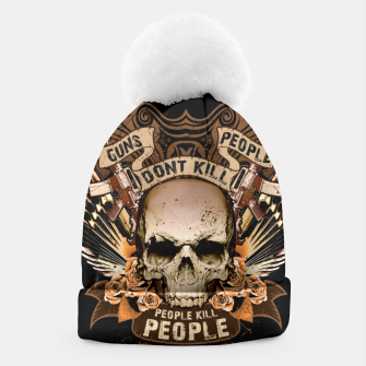 Miniatur PEOPLE KILL PEOPLE Peace Edition  Beanie, Live Heroes