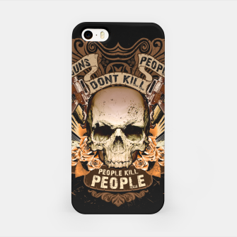 PEOPLE KILL PEOPLE Peace Edition  iPhone Case thumbnail image