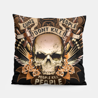 Miniatur PEOPLE KILL PEOPLE Peace Edition  Pillow, Live Heroes
