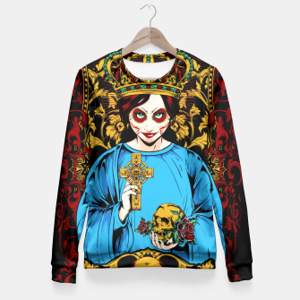 Thumbnail image of VIRGIN DO MEXICO Candy Edition Fitted Waist Sweater, Live Heroes