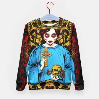 Thumbnail image of VIRGIN DO MEXICO Candy Edition Kid's Sweater, Live Heroes