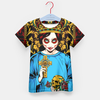 Thumbnail image of VIRGIN DO MEXICO Candy Edition Kid's T-shirt, Live Heroes