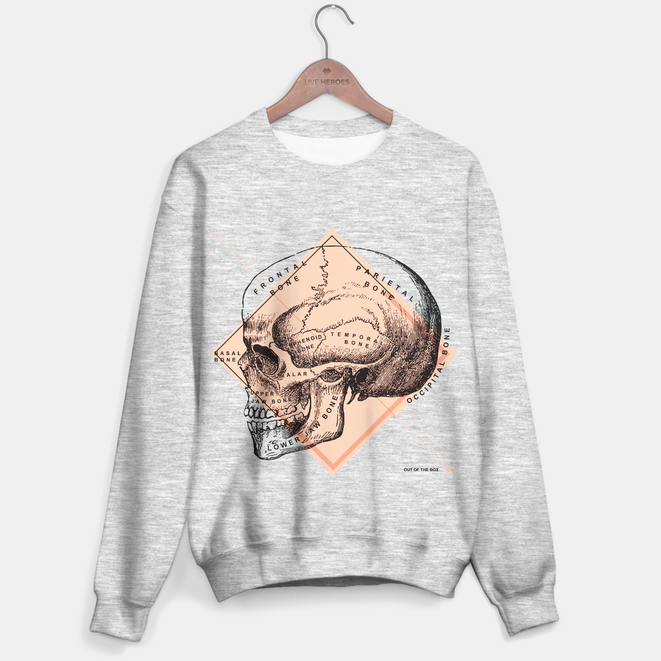 Anatomy Collection | TOOTB / Rose Quartz Sweater, Live Heroes
