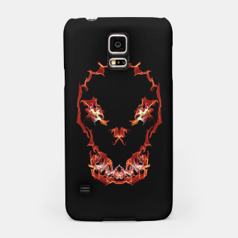Thumbnail image of Flaming Skull Gothic Art Samsung Case, Live Heroes