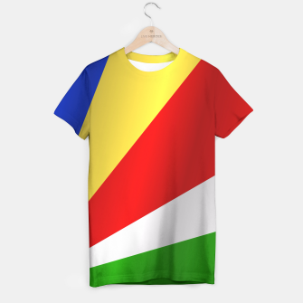 Flag of Seychelles T-shirt thumbnail image