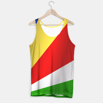 Flag of Seychelles Tank Top thumbnail image