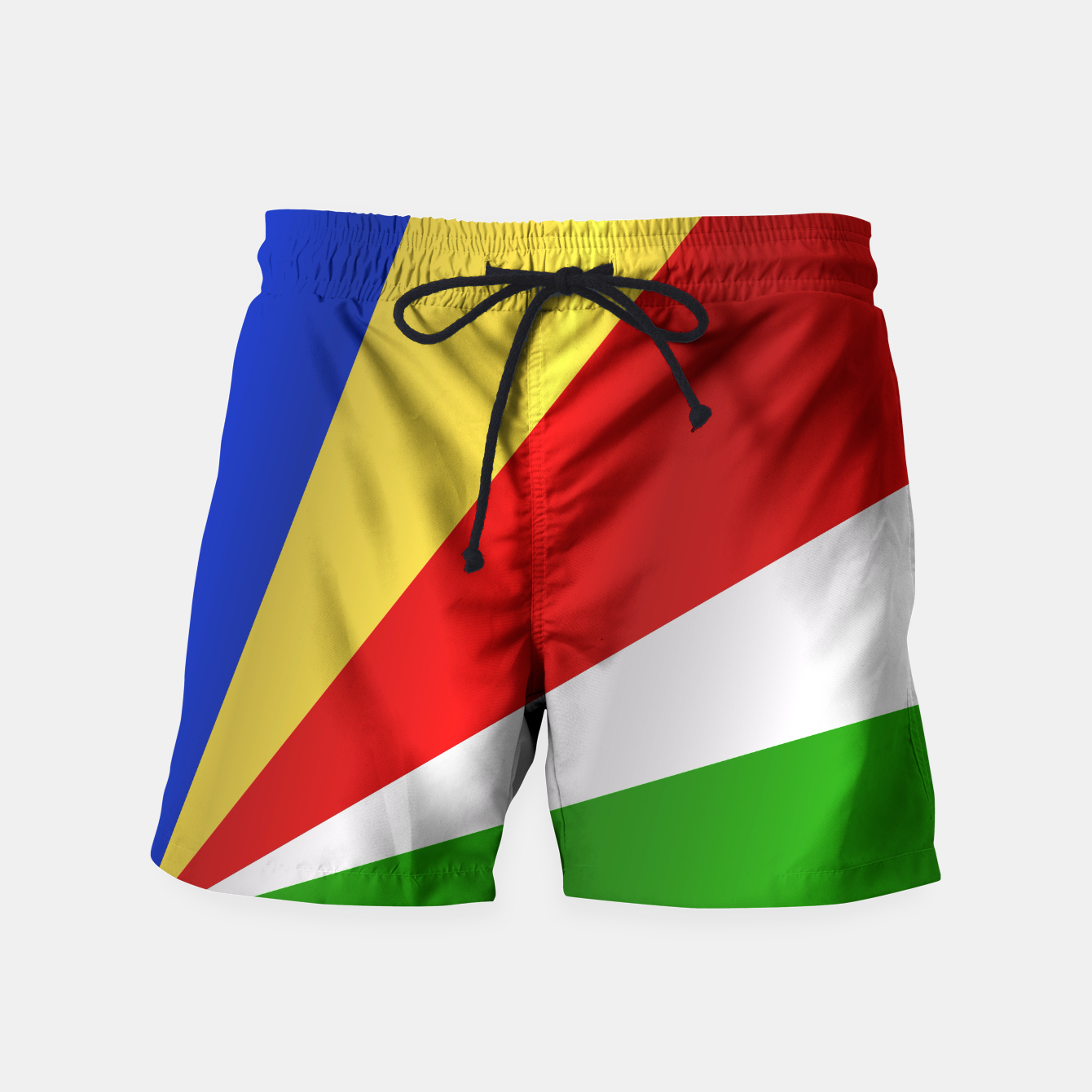 Image of Flag of Seychelles Swim Shorts - Live Heroes