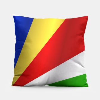 Flag of Seychelles Pillow thumbnail image