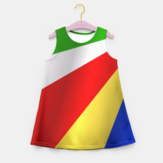 Flag of Seychelles Girl's Summer Dress thumbnail image