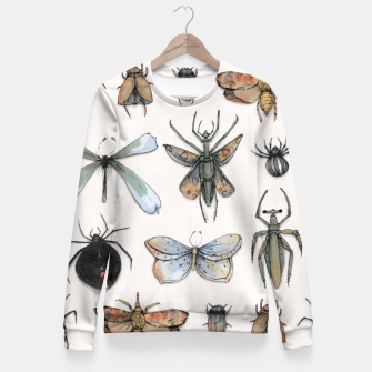 Thumbnail image of Entomology Fitted Waist Sweater, Live Heroes