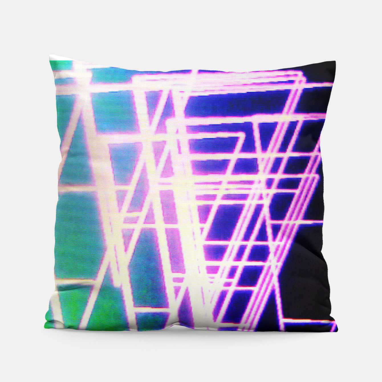 Image of Mother. Fucking. Triangles. Pillow - Live Heroes