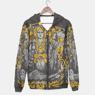 Thumbnail image of IBERIAN HECATE grey Sudadera con capucha, Live Heroes